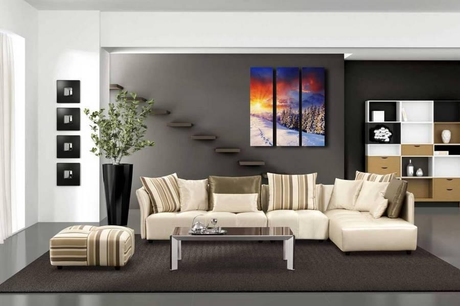 Белый диван в интерьере: 75 интересных идей с фото