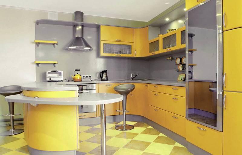 Желтая кухня в интерьере: 50+ фото с примерами сочетания цветов в дизайне