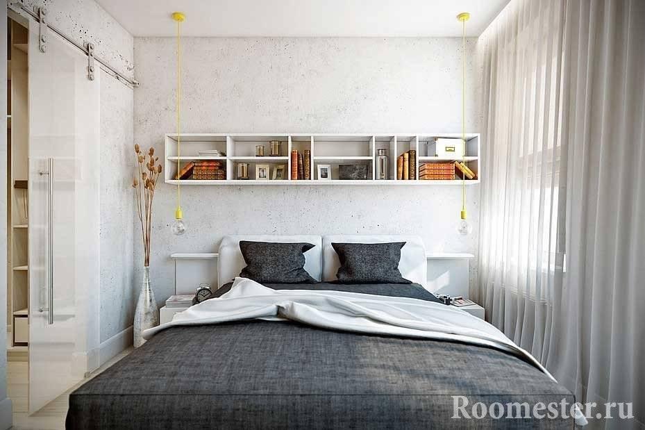 Дизайн спальни 9 кв м с фото интерьера и его описанием
