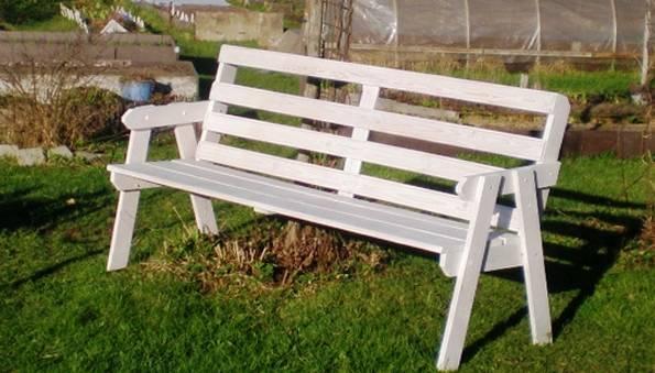 Садовая скамейка: 100 фото стильных и элегантных проектов от дизайнеров