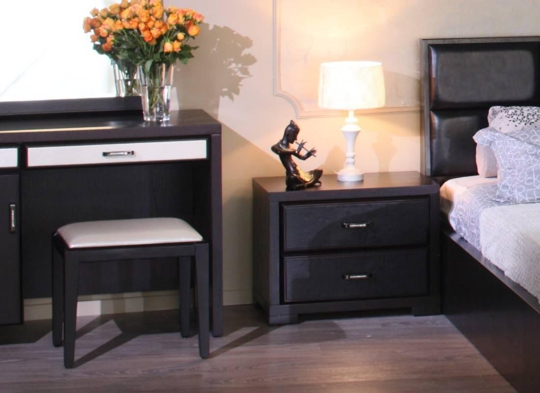 Прикроватные шкафы в спальню: особенности, виды и способы расстановки