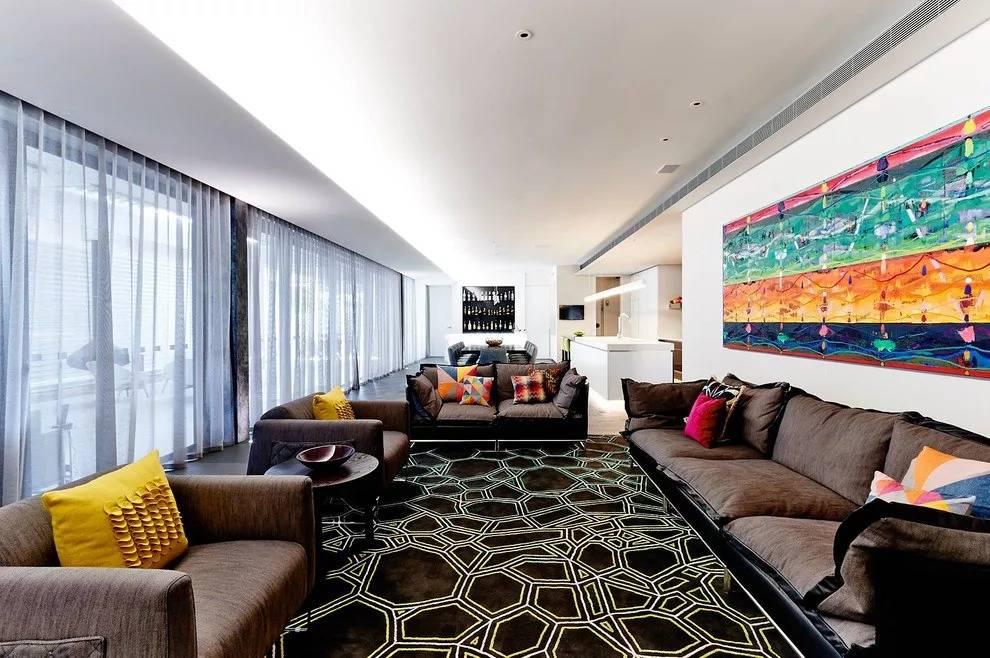 Тюль для гостиной: в современном стиле, плотный, короткий, двойной