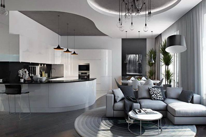 Кухня-гостиная 30 кв. м. [45 фото], идеи дизайна