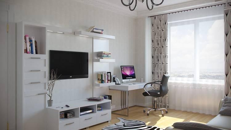 Компьютерный стол в интерьере - 70 фото необычных дизайнерских решений
