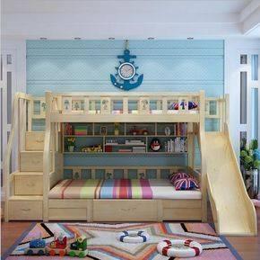 Двухъярусная кровать для детей (176 фото): двухэтажная кровать для двух и более детей, современные детские модели