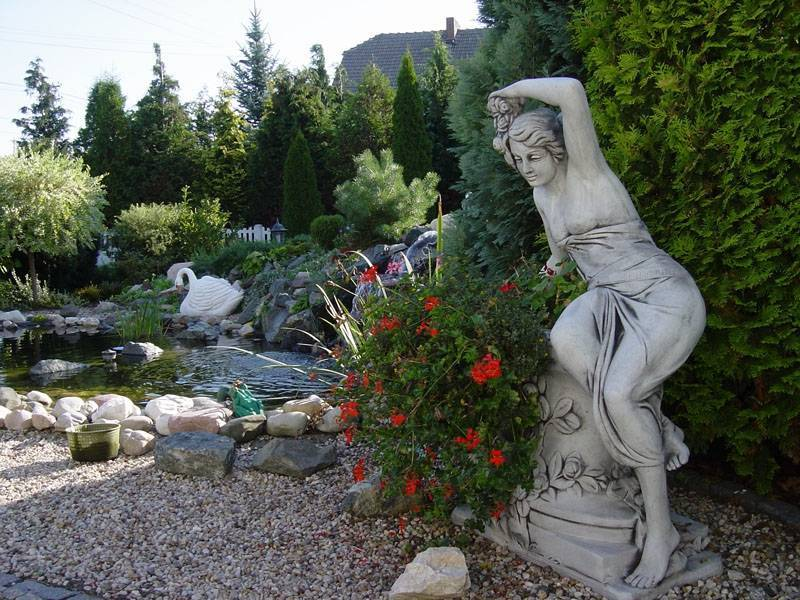 Эффектные садовые скульптуры любой сложности