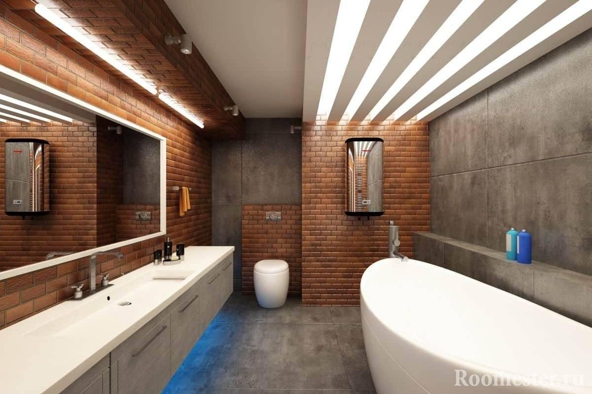 Стиль лофт в интерьере - 55 фото, правила оформления, идеи