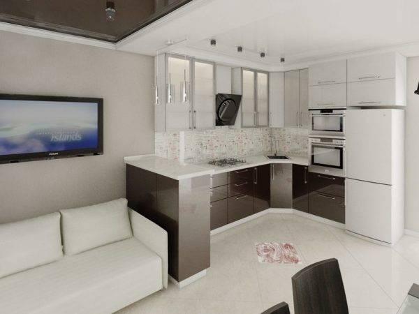 Нюансы планировки кухни-гостиной 15 кв. м: дизайн и зонирование комнаты