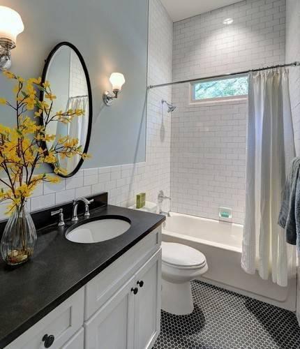 Угловая ванна — стильный атрибут для современной ванной комнаты (+67 фото)