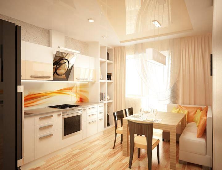 Дизайн кухни 14 кв. м: выбираем интерьер и планировку
