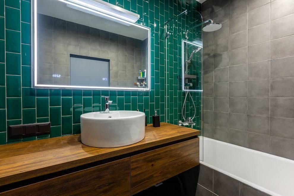 Модные варианты укладки плитки в ванной комнате с фото дизайна и схемами