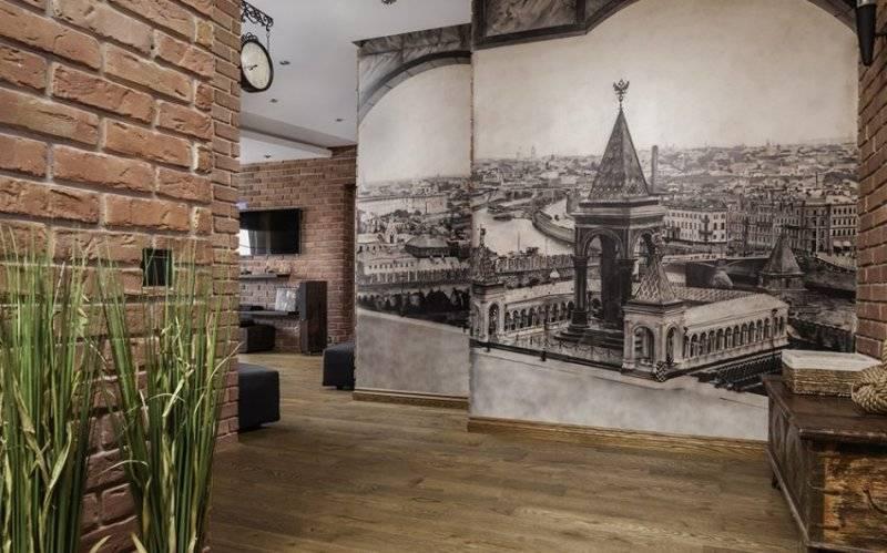 Стены в прихожей: виды отделки, цвет, дизайн и декор, идеи для маленького коридора