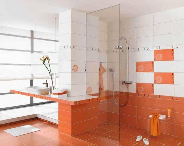 Дизайн плитки в ванной - 105 фото и советов по использованию лучших идей