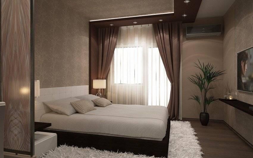 Дизайн спальни 15-16 кв. м (105 фото): интерьер квадратной комнаты, планировка прямоугольной спальни 3 на 5 метров