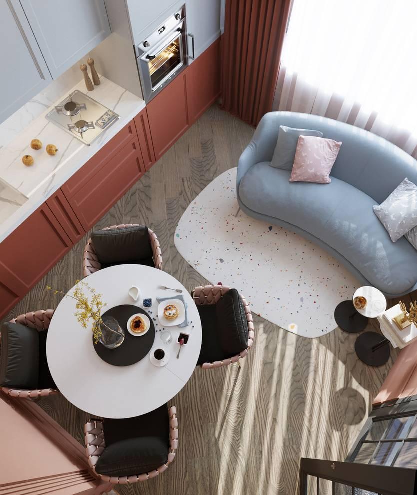Круглый столик (50 фото): современные модели столов с размером столешницы 80 см и детские пластиковые варианты в стиле «лофт»
