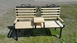 Садовая скамейка — использование в ландшафтном дизайне и инструкция для постройки своими руками (100 фото)