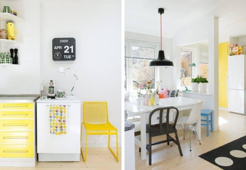 Яркая кухня: правила оформления и фотогалерея с реальнми фото примерами