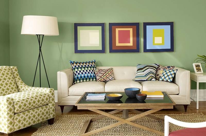 Фисташковый цвет в интерьере: 75 вариантов в фото