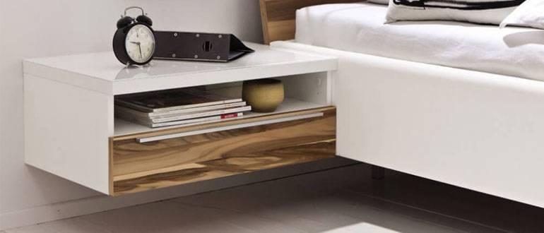 Советы по выбору стиля и дизайна тумбочки для спальни