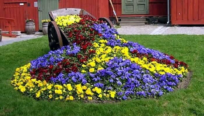 Инструкция, как украсить сад - особенности ландшафтного дизайна. оригинальные украшения для сада своими руками