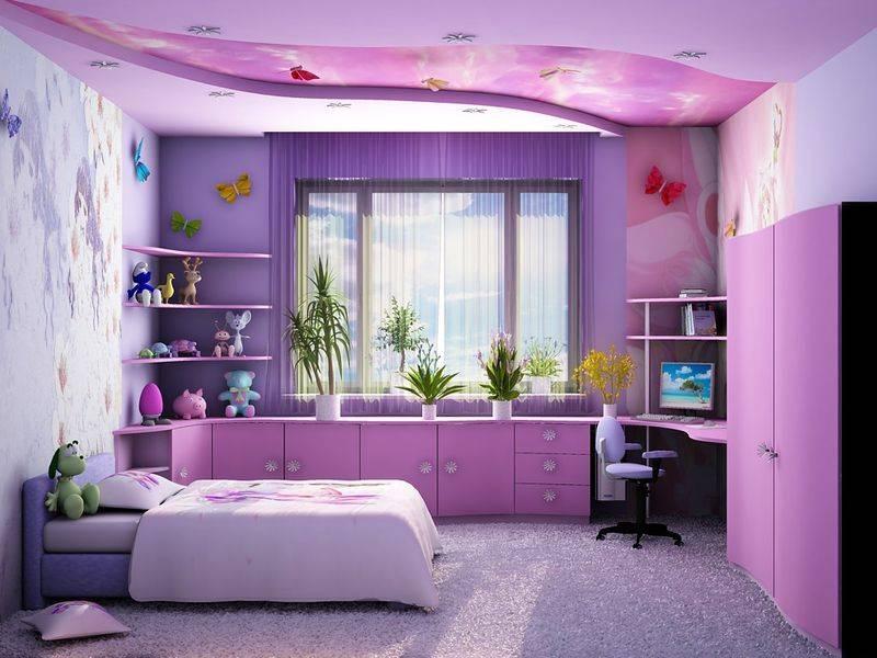 Как обустроить детскую комнату - идеи и советы (32 реальных фото + видео)