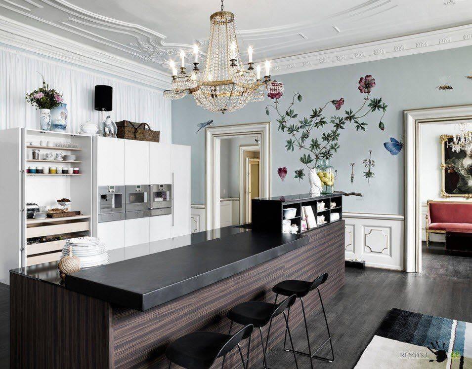 Новинки штор для кухни: модные тенденции 2020 года с фото