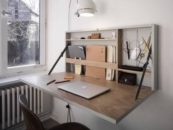 Угловой компьютерный стол: фото в интерьере, дизайн, виды, материалы, цвета