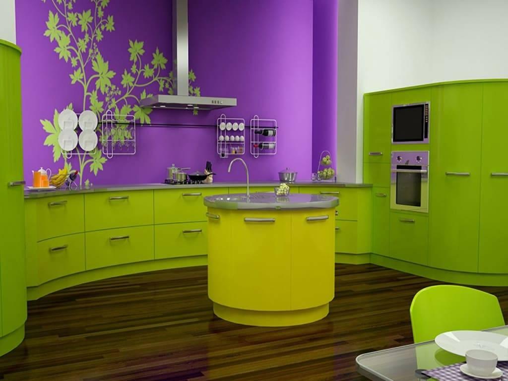 Краска для кухни - какую выбрать для потолка и стен, в какой цвет какой краской лучше покрасить?