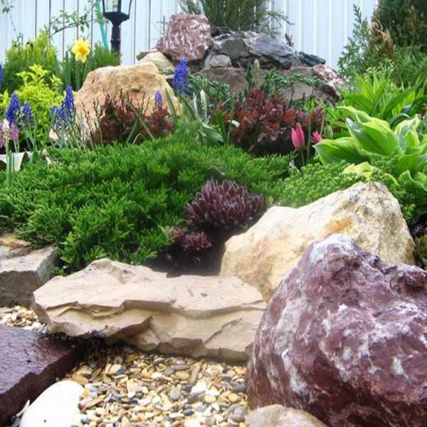 Особенности использования натуральных камней в ландшафтном дизайне