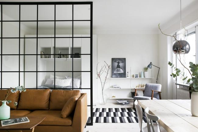 Удачные примеры совмещения спальни и гостиной: 200 лучших идей 2019