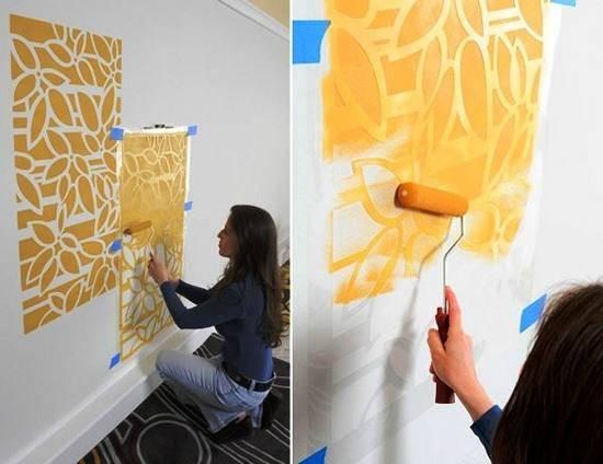 Как покрасить стены – подробная инструкция как правильно нанести краску своими руками (95 фото)