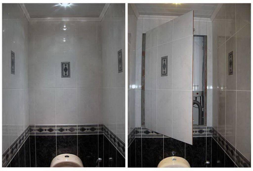 Рольставни в туалет: виды, способы установки и 42 фото