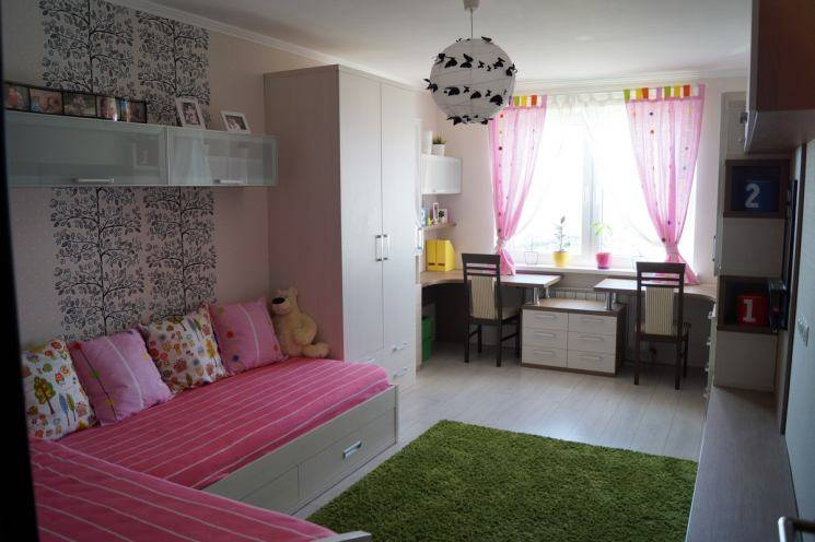 Комната детская 12 кв м на двоих для мальчиков и девочек
