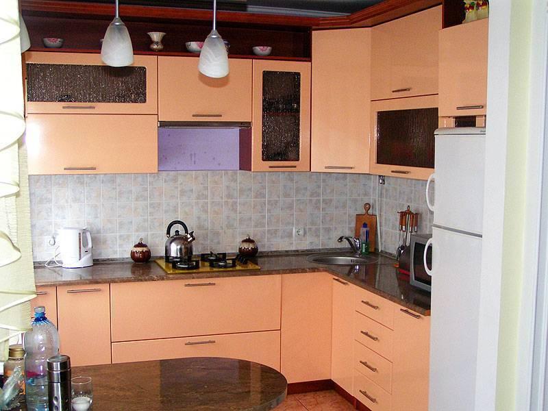 Кухня персикового цвета: 100 фото лучших идей - дизайн интерьера
