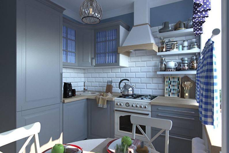 Дизайн кухни 6 кв м – фото интерьеров маленьких 6 м2 кухонь