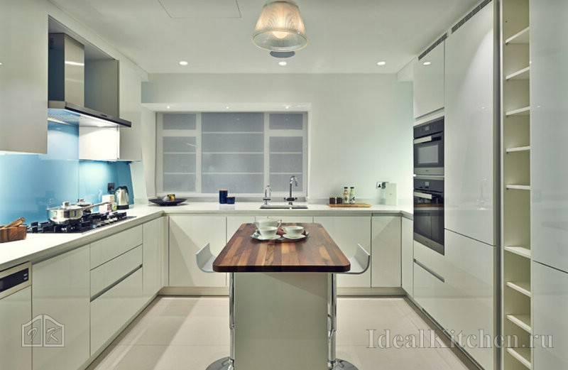 Прямая кухня от планировки до дизайна – 70 фото и 14 подсказок