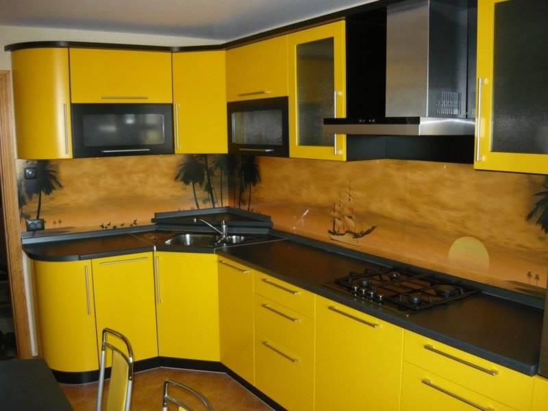 Желтый цвет в интерьере кухни – 5 главных советов и 100 фото для вдохновения