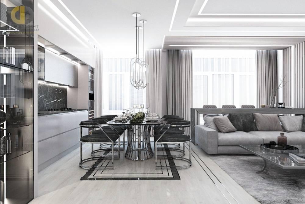 Кухня-гостиная 35 м: цвета, советы по планировке, фото в интерьере