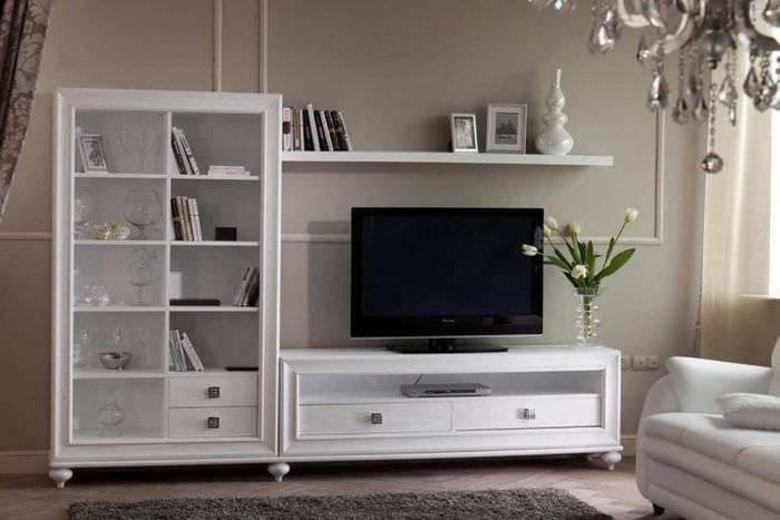 Белая мебель в интерьере кухни, спальни и гостиной | 25 идей дизайна
