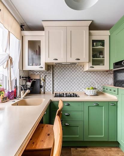 Дизайн кухни 6 кв. м: 100 фото красивых идей и новинок интерьера