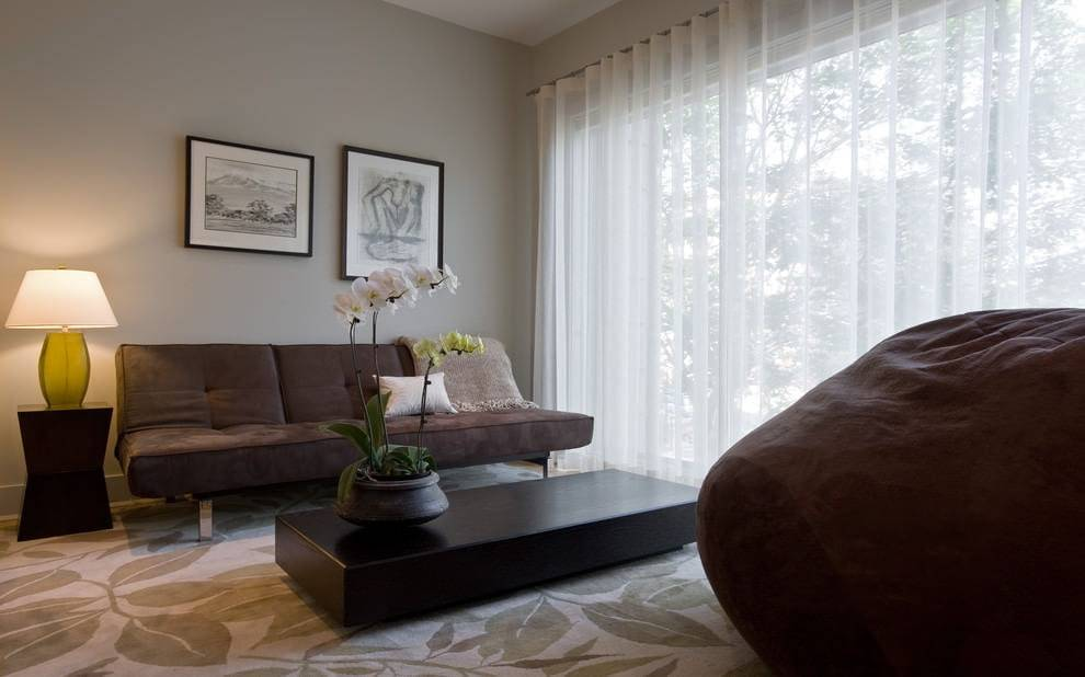 Шторы в гостиную фото в современном стиле, дизайн штор в интерьере