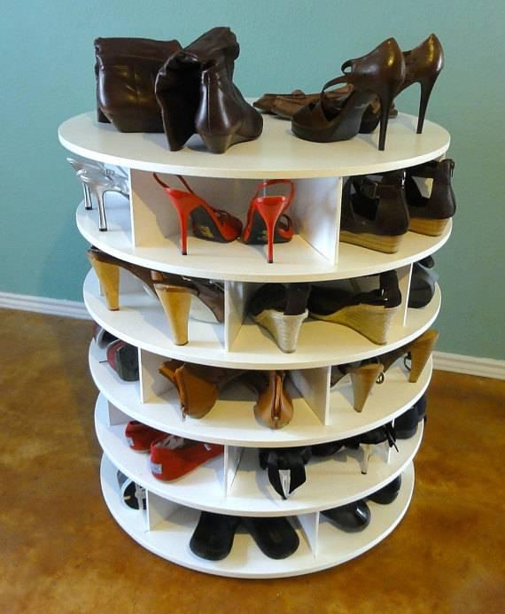 Органайзеры для обуви своими руками: стильные и простые способы хранения