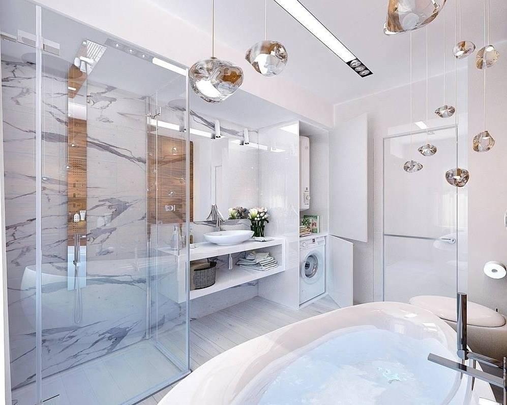 Ванная в стиле хай тек: особенности оформления