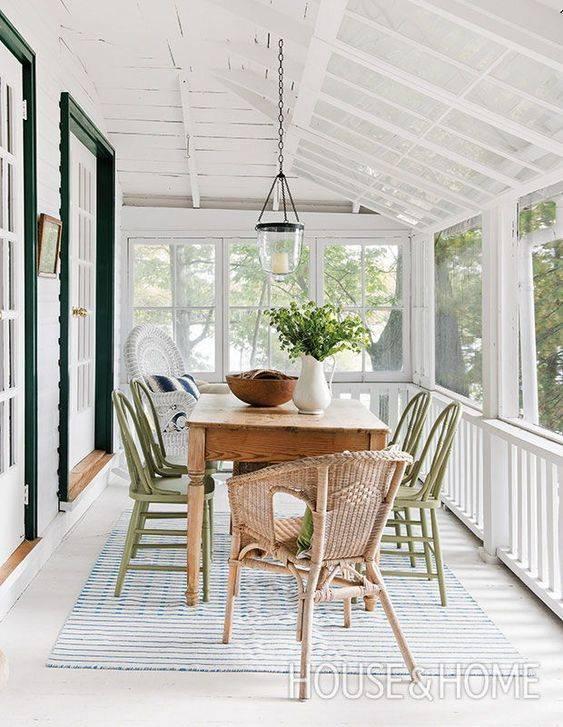 Терраса на даче - как создать и украсить важный элемент дома? (130 фото)
