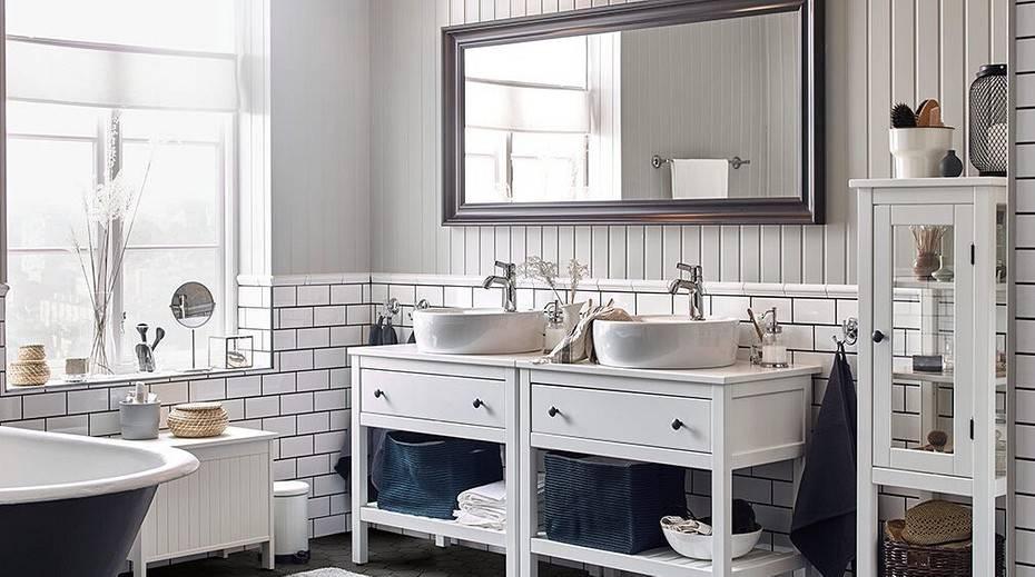 Ванная в скандинавском стиле: дизайн интерьера комнаты + фото