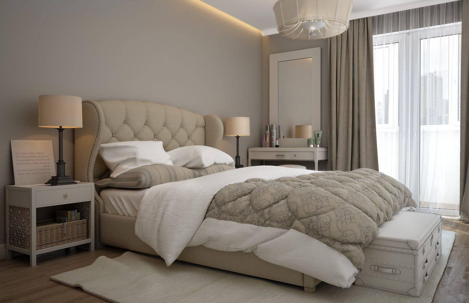 Спальня в бежевых тонах: фото в интерьере, сочетания, примеры с яркими акцентами