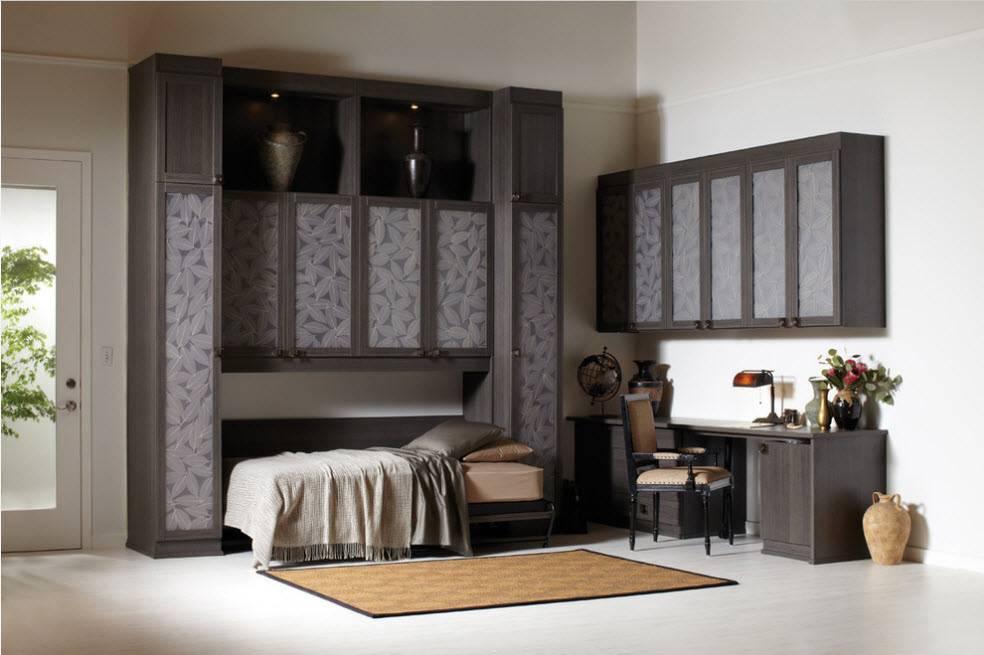 Шкаф-кровать - 69 фото как выбрать встроенное спальное место