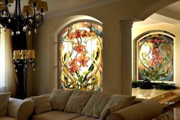 Цветные пластиковые окна: разнообразь скучный интерьер!