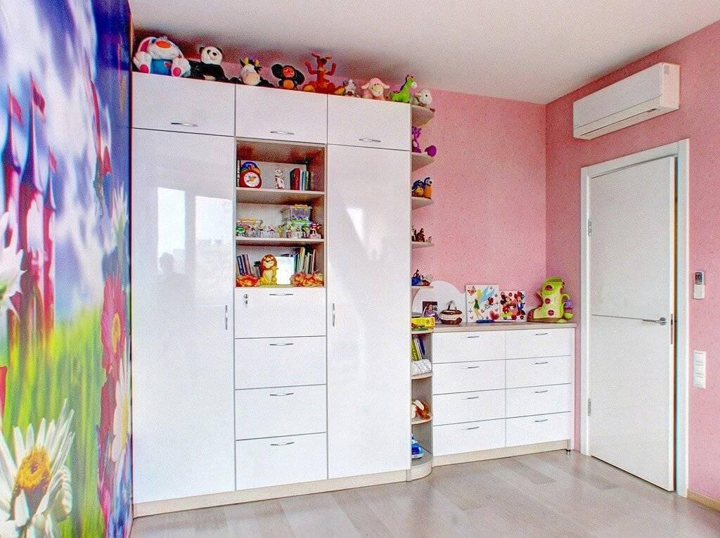 Габариты детских шкафов для одежды, основные разновидности мебели