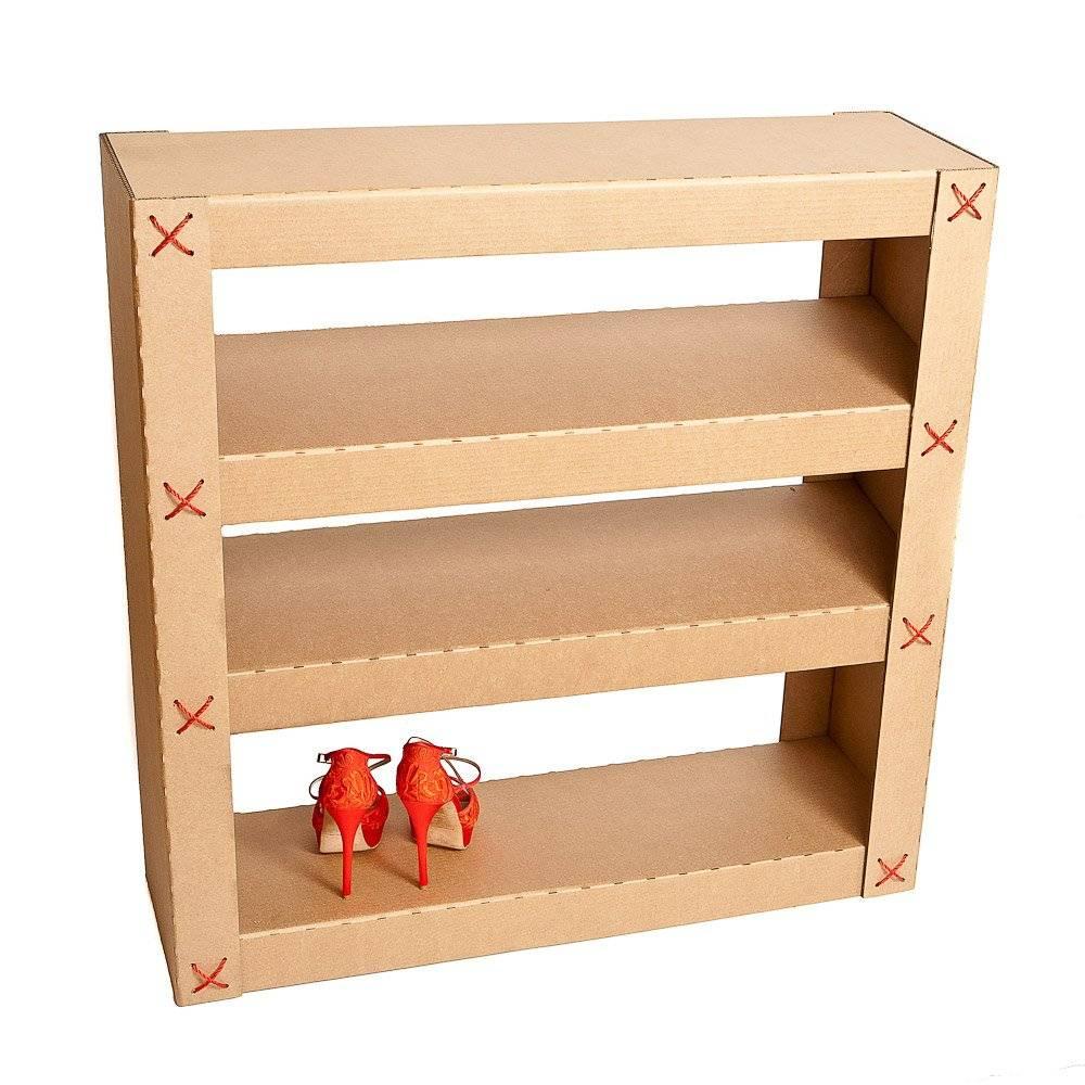 Полка для обуви своими руками, материалы, пошаговые мастер-классы